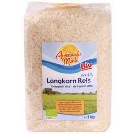 6 x Antersdorfer Bio Dlouhozrnná rýže loupaná, 1kg