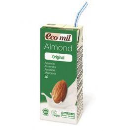 24 x EcoMil Bio Mandlový nápoj s agáve, 200ml