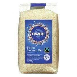 8 x Davert Bio Rýže Basmati loupaná, 500g