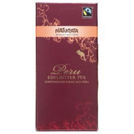 10 x Naturata Bio Hořká čokoláda Peru 75%,100g