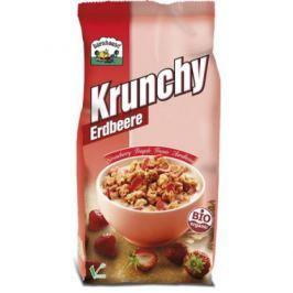 6 x Barnhouse Bio Krunchy ovesné s jahodami, 700g