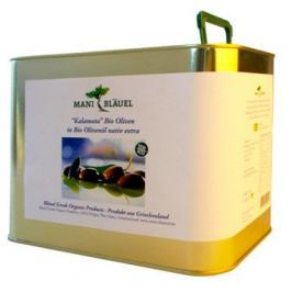 Mani Bio Černé olivy Kalamata, 4,7kg