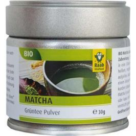 8 x Raab Bio Zelený čaj Matcha, 30g