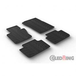 Gumové autokoberce Gledring BMW X3 2004-2010 (E83)