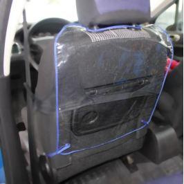 Ochranný návlek zadní strany sedadla Pigi