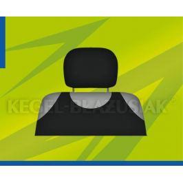 Potahy opěrek hlavy (černé)