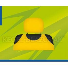 Potahy opěrek hlavy (žluté) Autopotahy