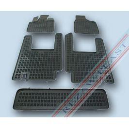 Gumové autokoberce Rezaw-Plast Chrysler Voyager 2006-2011 (7 míst) Autokoberce na míru
