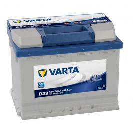 Autobaterie 60Ah Varta Blue Dynamic D43