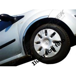 Lemy blatníků Mitsubishi Outlander II. (dlouhý) 2006-2012 Blatníky, podběhy, bočnice