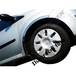 Lemy blatníků Renault Megane II. Phase I. HB (dlouhý kufr) 2002-2006