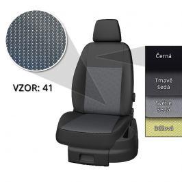 Autopotahy Taso Opel Movano 2010- (3 místa + 4 místná lavice)