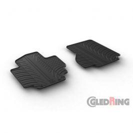 Gumové autokoberce Gledring Nissan e-NV200 2014- (přední)