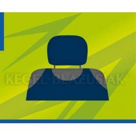 Potahy opěrek hlavy (tmavě modré)