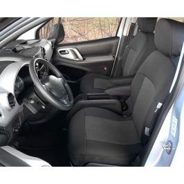 Přesné autopotahy Peugeot Partner Tepee 2008- (přední)