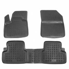 Gumové autokoberce Rezaw-Plast Citroen DS7 Crossback 2018- (s tunelem)