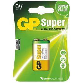 Alkalická baterie gp super 6lf22 (9v), 1 ks v blistru