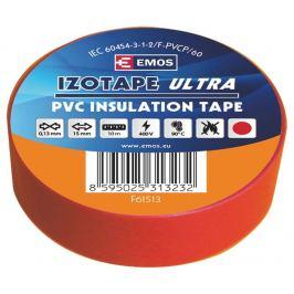Izolační páska pvc červená 15mm/10m