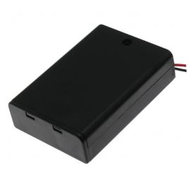 Pouzdro pro baterie 3xaa s vodiči 150mm 4.5v comf sbh-331a