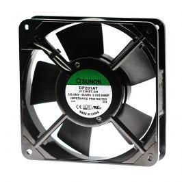 Ventilátor 120x120x25mm 230v ac/100ma 44db sunon dp201at-2122hbt.gn