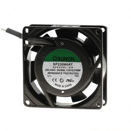 Ventilátor 80x80x25mm 230v ac/70ma 30db sunon sf23080at-2082hbl.gn