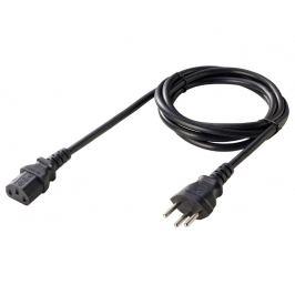 Napájecí kabel švýcarsko - 3x0.75mm2 - 1.8m