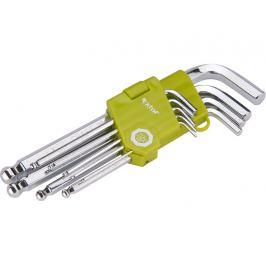L-klíče imbus sada 9ks s kuličkou extol craft 66001