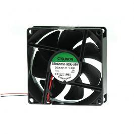 Ventilátor 80x80x25mm 12v dc/120ma 33db sunon ef80251s1-1000u-a99