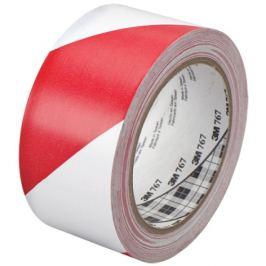 Výstražná páska 3M 767 červená/bílá 50mm x 33m