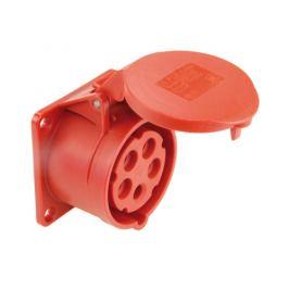 Zásuvka vestavná PCE 325-6 32A/5P/400V IP44
