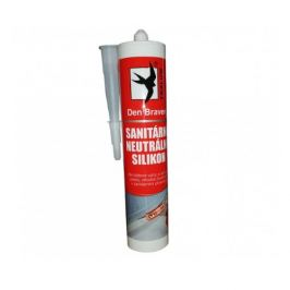 Sanitární neutrální silikon Den Braven Oxim 280ml transparentní 306020RL