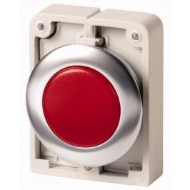 Signálka červená zapuštěná IP67 kroužek kovový EATON M30C-FL-R 183282
