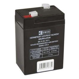 Olověný akumulátor EMOS B9641 6V 4Ah (DHB640)