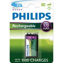 Nabíjecí baterie 9V Philips MultiLife HR22 9VB1A17/10 170mAh NiMH
