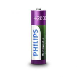 Nabíjecí tužkové baterie AA Philips MultiLife HR6 R6B4B260/10 2600mAh NiMH