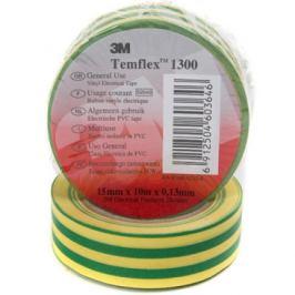 Izolační páska 3M TEMFLEX 1300 15mm x 10m žlutozelená