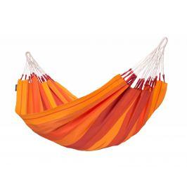 Houpací síť La Siesta Orquídea Single Barva: červená/oranžová