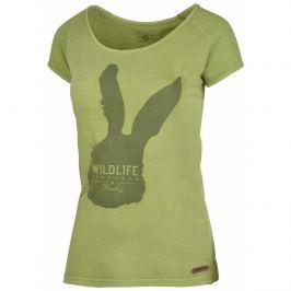 Dámské triko Husky Rabbit L Velikost: M / Barva: zelená