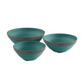 Vystavená Sada misek Outwell Collaps Bowl Set Barva: modrá