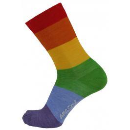 Ponožky Apasox Cima Velikost ponožek: 35-38 / Barva: červená/modrá