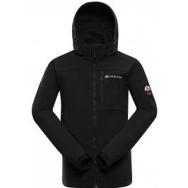 Pánská softshellová bunda Alpine Pro Nootk 7 Velikost: XXXL / Barva: černá
