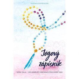Jógový zápisník: Jóga mala - 108 korálků inspirace pro každý den