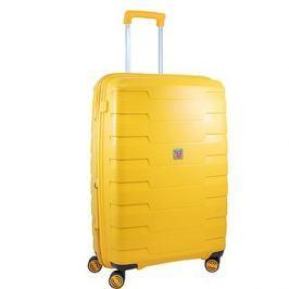 Roncato cestovní kufr SPIRIT, 79 cm, EXP., 4 kolečka,  žlutá
