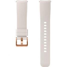 Samsung Galaxy Watch Silicone Band 20mm Stříbrná