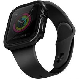Uniq Valencia pro Apple Watch 44mm Blush Gunmetal šedý