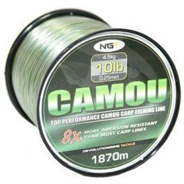 NGT Camou Line 0,25mm 4,5kg 1870m