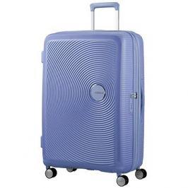 American Tourister Soundbox Spinner 77 Exp Denim Blue