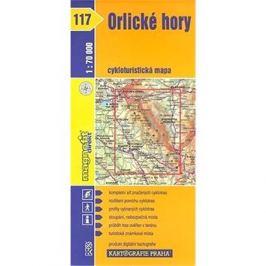 Orlické hory: cykloturistická mapa č. 117