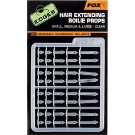 FOX Edges Hair Extending Boilie Props Clear S32+M32+L16ks