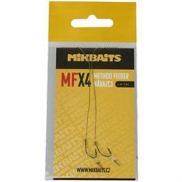 Mikbaits Návazec Method Feeder MFX Velikost 4 10cm 2ks